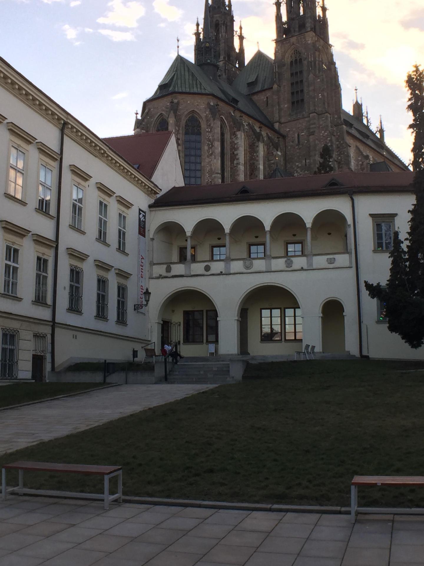 Brno Bishop's Courtyard