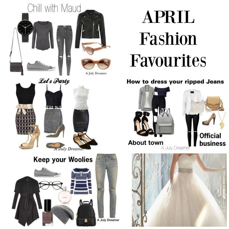 April fashion favourites