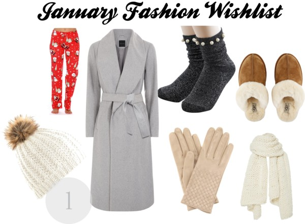 January Fashion wishlist
