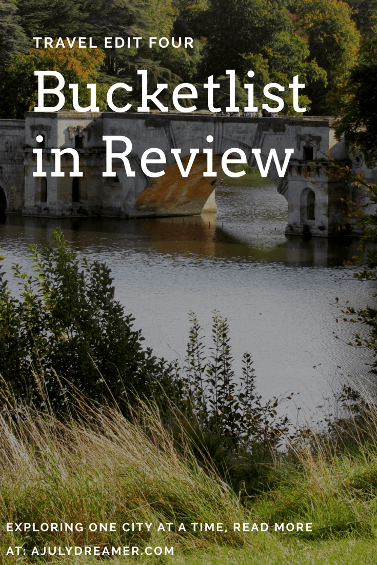 Bucketlist in Review ~ Travel Edit four