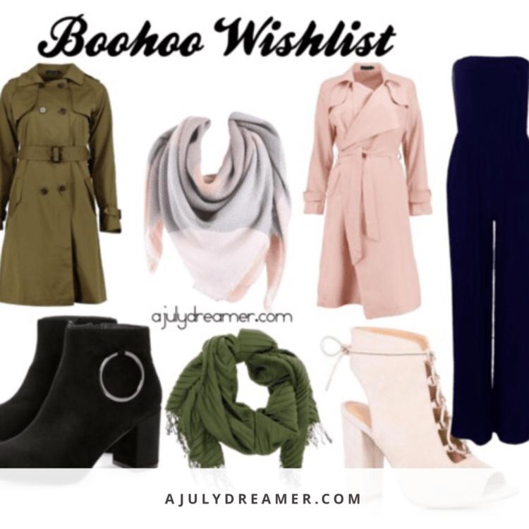 Boohoo 2017 Wishlist