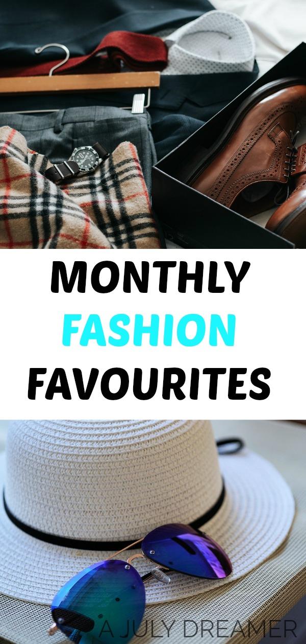 {Monthly Roundup} Fashion Favourites April 2018