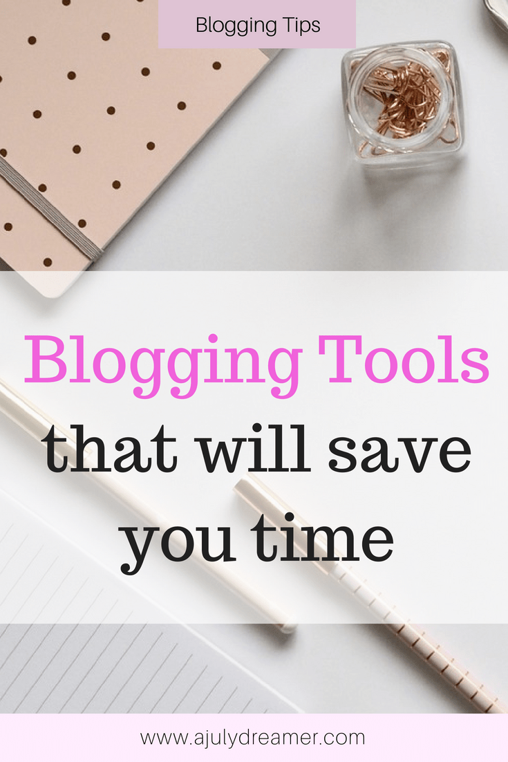 5 Blogging Tools that will save you time #bloggingtips