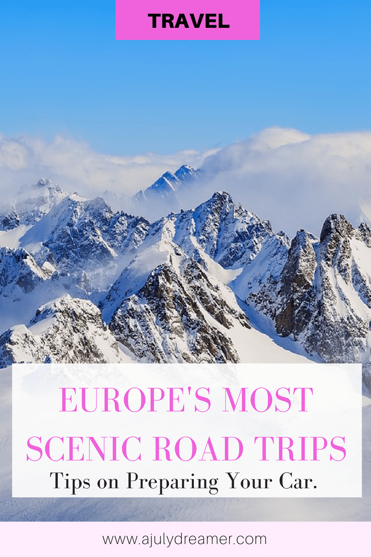 Europes most scenic road trips