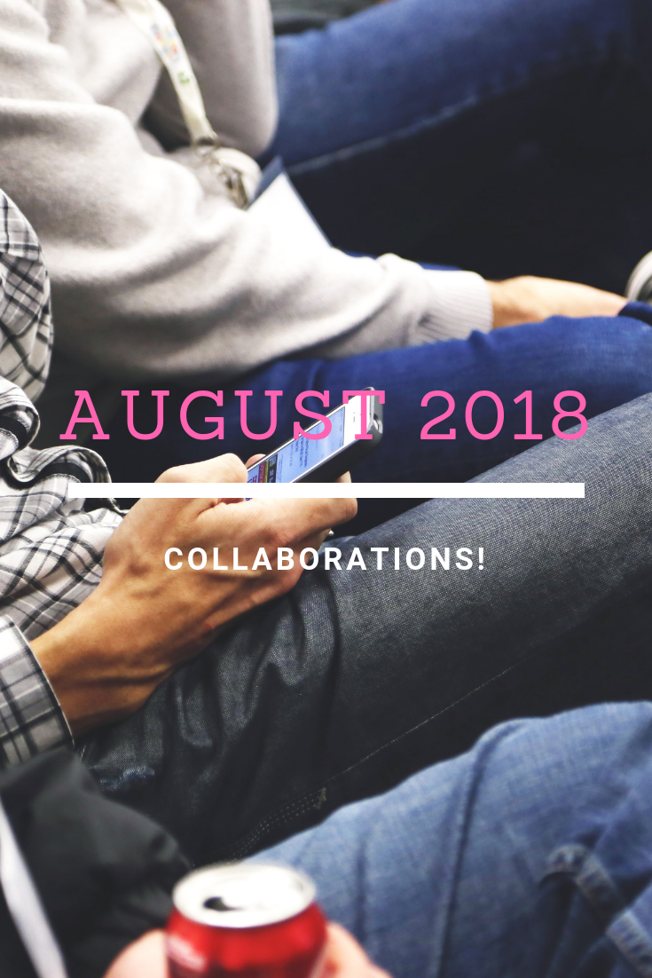 {Monthly Roundup} August 2018 Sponsors