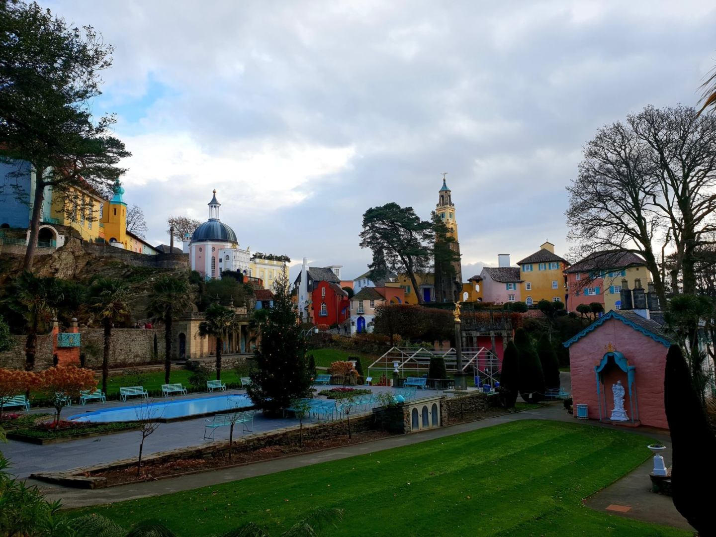 Adventures in Portmeirion in North Wales