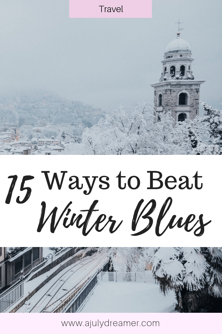Often after the festive season is over, winter can be such a drag on the mind and emotions. It can be difficult trying to adjust and get into the swing of things after the holidays. Over the last couple of years, I have come up with 13 ways to beat the winter blues.