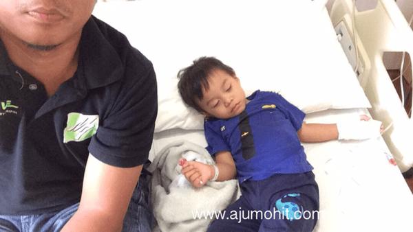 Bayi kene rotavirus