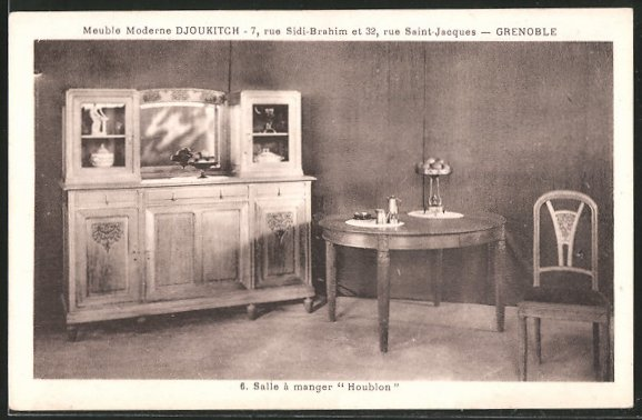 ak grenoble meuble moderne djoukitch salle a manger houblon 6389188 alte ansichtskarten postkarten