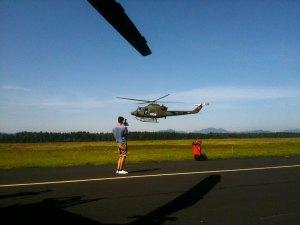 obisk vojaške letalske enote na Brniku