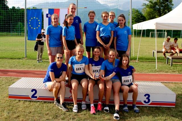 Ekipno DP dekleta U14 - 3.mesto (2019)