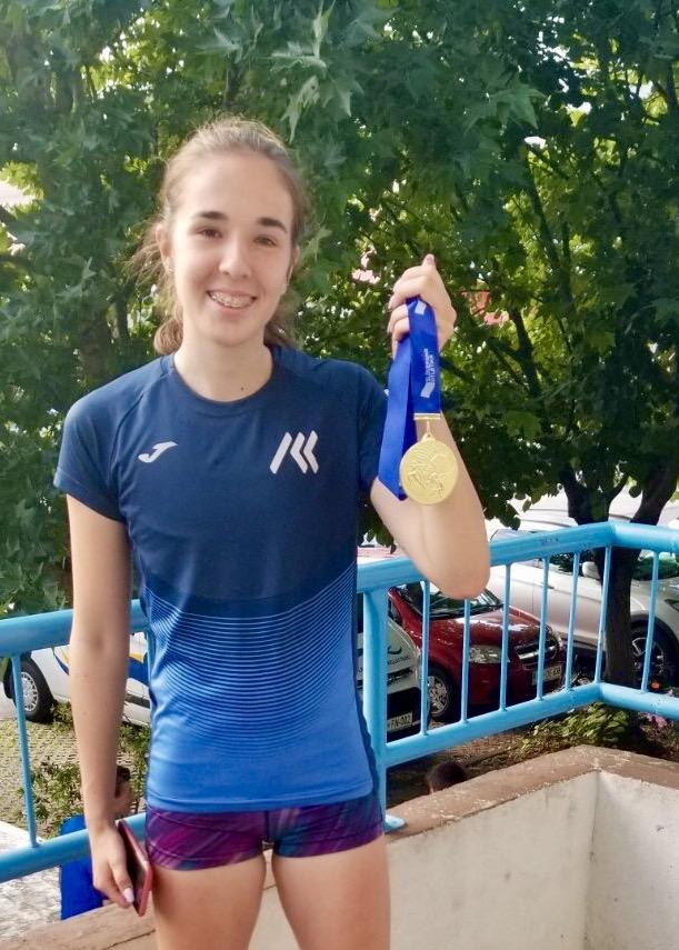 Eva Boltežar državna podprvakinja v metu kopja U18 (2020)