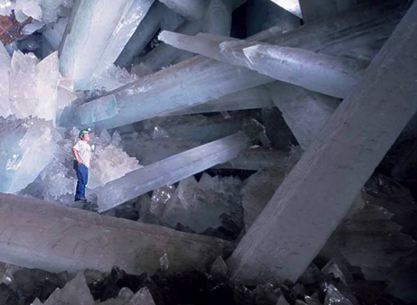 Naica Giant Crystal Cave