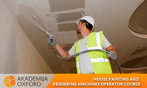 House Painting And Rendering Machines Operator Course