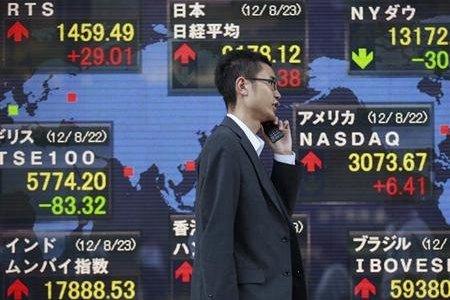 هبوط الاسهم اليابانية أوائل التعامل في طوكيو