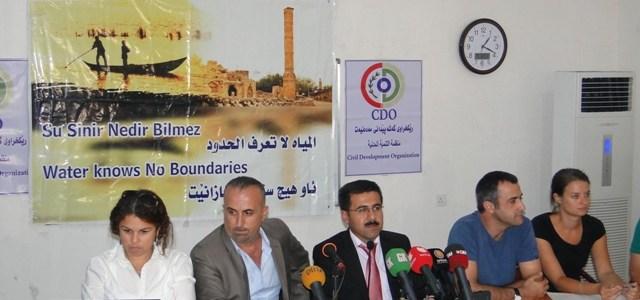 """حملات واسعة لمنظمات مدنية عراقية واجنبية لانقاذ نهر دجلة والاهوار من خطر سد """"اليسو"""" التركي"""