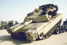 صورة العراق يتسلم تسع مدرعات اميركية ابرامز من طراز  M1A1
