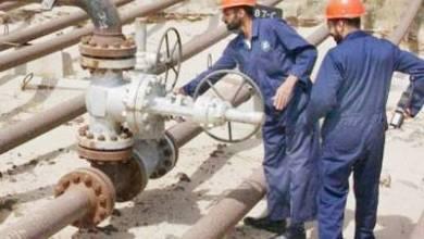 صورة إنجاز أول مصنع لإنتاج الغاز الصلب والسائل في حقل الأحدب غرب الكوت