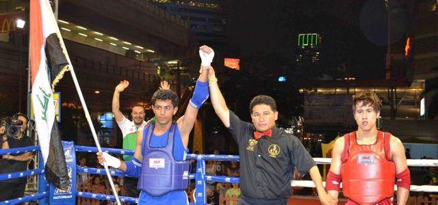 بطل العالم في رياضة المواي تاي في ضيافة أكد نيوز