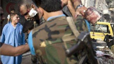 صورة مقتل العشرات باستهداف نادي الضباط بحلب