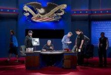 صورة بايدن في هجوم مضاد على راين بعد فشل اوباما في مناظرته مع رومني