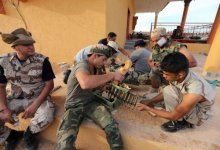"""صورة ليبيا تحيي الذكرى الاولى ل""""تحريرها"""" وسط اجواء من التوتر"""