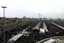 صورة كربلاء : حشود مليونية في زيارة عاشوراء