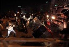 صورة هتافات بإسقاط النظام أمام ديوان ملك الأردن