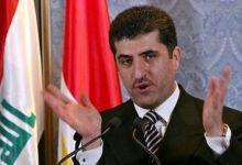 صورة البارزاني : المالكي يسعى لاستخدام الأزمة بين بغداد والإقليم كدعاية انتخابية