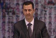 صورة الأسد: وقف العمليات العسكرية مقابل الحوار