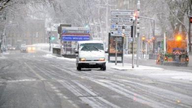 صورة الثلوج والجليد في اوروبا تحصد 13 قتيلا وتعرقل حركة الملاحة الجوية