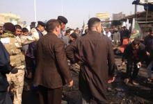صورة كربلاء : قتيلان و20 جريح في انفجار سيارة مفخخة في قضاء الهندية