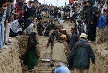 صورة غضب وصدامات مع الشرطة لدى تشييع ضحايا تفجير كويتا