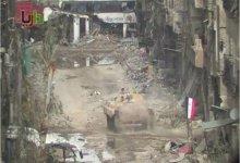 """صورة اشتباكات قرب دمشق و""""الحر"""" يتقدم بدرعا"""
