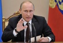 صورة بوتين يقترح قوة سلام روسية في الجولان السوري