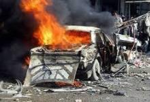 صورة 19 شخص بين قتل وجريح بانفجار مفخخة في سوق وسط قضاء العزيزية