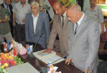 صورة عضو مجلس محافظة كربلاء حيدر خنجر يعلق عضويته  بسبب تسييس قضية المدرب محمد عباس