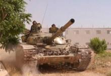 صورة حزب الله يشارك قوات الأسد في الهجوم على معضمية الشام