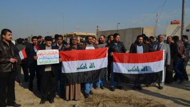صورة دعم شعبي في الديوانية للعمليات القتالية ضد القاعدة وتحذير من استغلال دماء العراقيين في مزاد السياسة