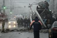 صورة انفجار ثان في مدينة روسية يقتل 10 في حافلة