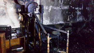 صورة حريق هائل يلتهم حسينية وسط الديوانية