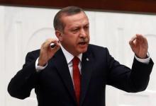 صورة اردوغان يصف فضيحة فساد حكومته بالمؤامرة على أمن البلاد