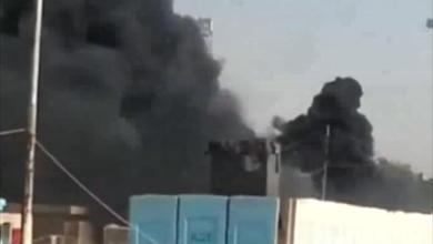 صورة داعش تهاجم مقر عمليات الانبار بالهاونات والصواريخ الموجهة