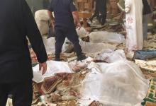 """صورة ارتفاع عدد شهداء تفجير الكويت إلى 25 و""""داعش"""" يتبنى الهجوم"""