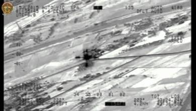 """صورة الطيران العراقي يستهدف مواقع لـ""""داعش"""" في الانبار"""