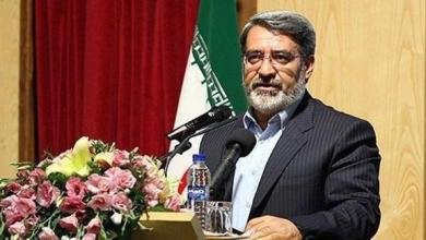 صورة وزير الداخلية الإيراني: ليس هناك ما يدعو للقلق على حدودنا