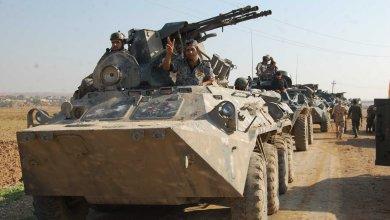 صورة القوات الامنية تحرر حي اليرموك الثانية في أيمن الموصل