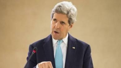صورة كيري : الاتفاق حول السلطة الانتقالية في سوريا ممكن في الأيام القادمة