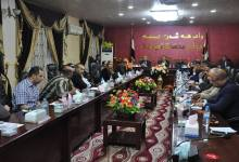 صورة تحركات في مجلس الديوانية لاجراء تغييرات في هرم لجانه وعضوياتها