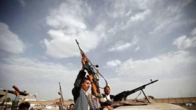 صورة قذائف على السعودية.. والتحالف يرد على الحوثيين في حرض وميدي